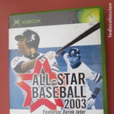 Videojuegos y Consolas: ALL-STAR BASEBALL 2003 FEATURING DEREK JETER -X BOX . Lote 196666295