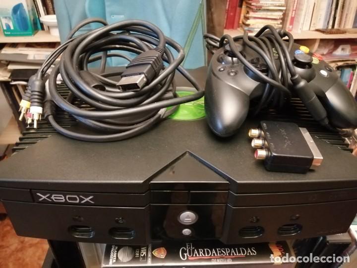 CONSOLA XBOX CLASICA 1 VERSION COMPLETA FUNCIONANDO (Juguetes - Videojuegos y Consolas - Microsoft - Xbox)