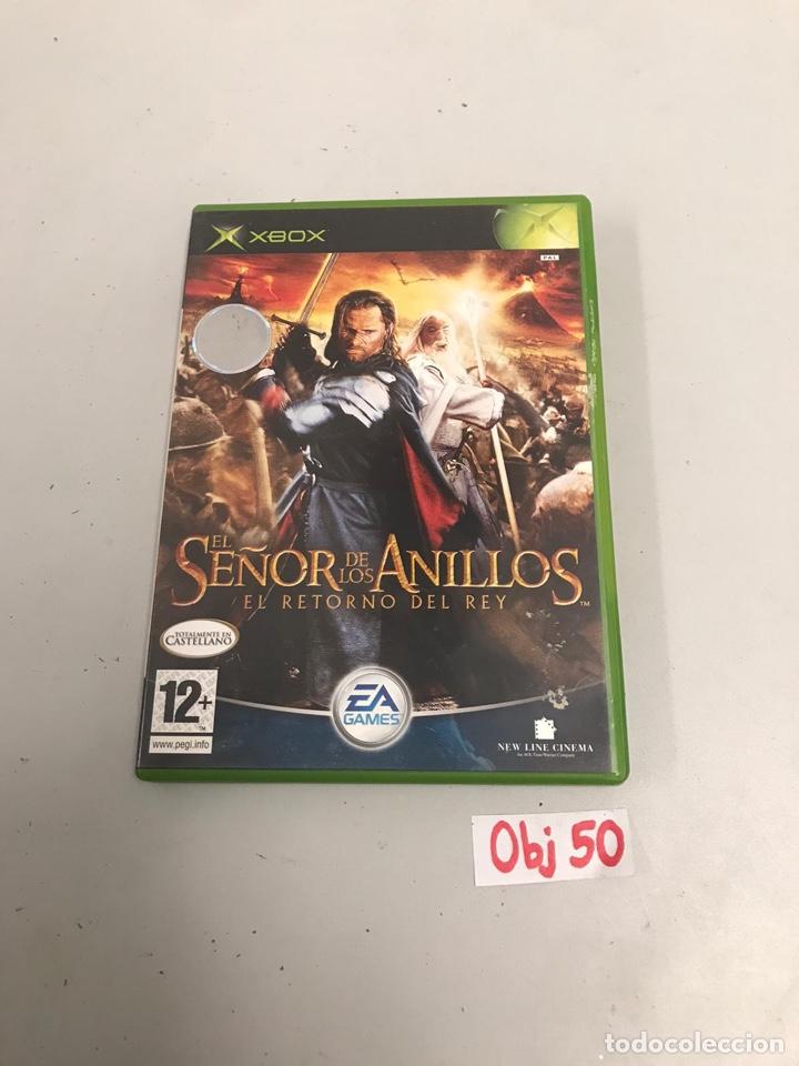 JUEGO XBOX EL SEÑOR DE LOS ANILLOS EL RETORNO DEL REY (Juguetes - Videojuegos y Consolas - Microsoft - Xbox)