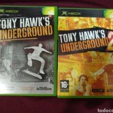 Videojuegos y Consolas: 2 JUEGOS TONY HAWKS'S, XBOX. Lote 199103753