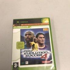 Videojuegos y Consolas: PRO EVOLUTION SOCCER 4 XBOX. Lote 199773723