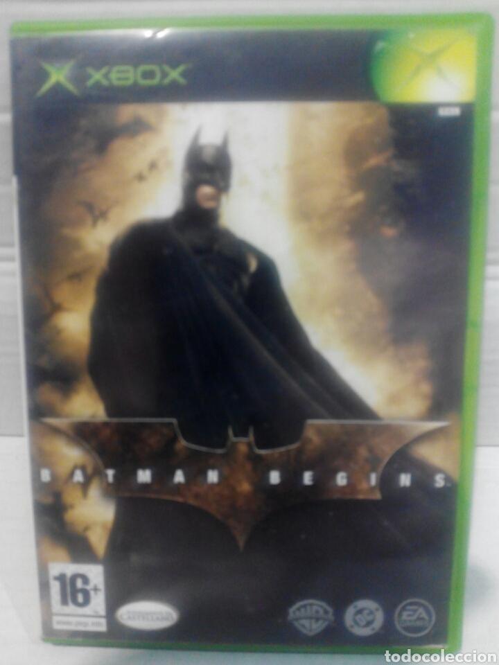 BATMAN BEGINS XBOX (Juguetes - Videojuegos y Consolas - Microsoft - Xbox)