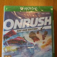 Videojuegos y Consolas: XBOX ONE ONRUSH-DAY ONE EDITION PRECINTADO. Lote 205672352