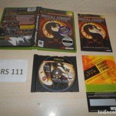 Videojuegos y Consolas: XBOX - MORTAL KOMBAT DECEPTION , PAL ESPAÑOL , COMPLETO. Lote 206179987
