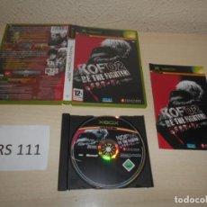 Videojuegos y Consolas: XBOX - THE KING OF FIGHRS 2002 , PAL ESPAÑOL , COMP'LETO. Lote 206180035