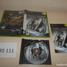 Videojuegos y Consolas: XBOX - MEDAL OF HONOR EUROPAN ASSAULT , PAL ESPAÑOL , COMPLETO. Lote 206180295