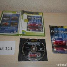 Videojuegos y Consolas: XBOX - PROJECT GOTHAN RACING , PAL ESPAÑOL , COMPLETO. Lote 206180333