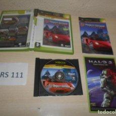 Videojuegos y Consolas: XBOX - PROJECT GOTHAN RACING 2 , PAL ESPAÑOL , COMPLETO. Lote 206180345