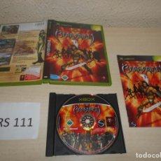 Videojuegos y Consolas: XBOX - BARBARIAN , PAL ESPAÑOL , COMPLETO. Lote 206180382