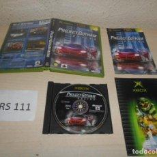 Videojuegos y Consolas: XBOX - PROJECT GOTHAN RACING , PAL ESPAÑOL , COMPLETO. Lote 206180451