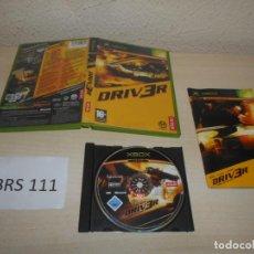 Videojuegos y Consolas: XBOX - DRIVER , PAL ESPAÑOL , COMPLETO. Lote 206180612