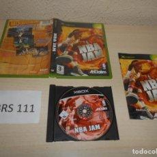 Videojuegos y Consolas: XBOX - NBA JAM , PAL ESPAÑOL , COMPLETO. Lote 206180655
