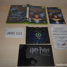 Videojuegos y Consolas: XBOX - HARRY POTTER Y LA PILOSOFAL , PAL ESPAÑOL , COMPLETO. Lote 206180710