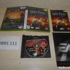 Videojuegos y Consolas: XBOX - HARRY POTTER Y EL CALIZ DE FUEGO , PAL ESPAÑOL , COMPLETO. Lote 206180758