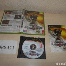 Videojuegos y Consolas: XBOX - UNREAL CHAMPIONSHIP , PAL ESPAÑOL , COMPLETO. Lote 206181071