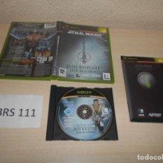 Videojuegos y Consolas: XBOX - STAR WARS JEDI KNIGHT - JEDI ACADEMY , PAL ESPAÑOL , COMPLETO. Lote 206181113