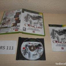 Videojuegos y Consolas: XBOX - OBSCURE , PAL ESPAÑOL , COMPLETO. Lote 206181232