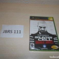 Videojuegos y Consolas: XBOX - SPLINTER CELL DOUBLE AGENT , PAL ESPAÑOL , PRECINTADO. Lote 206181272