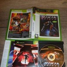Videojuegos y Consolas: XBOX NINJA GAIDEN CLASSICS PAL ESP COMPLETO. Lote 206423516