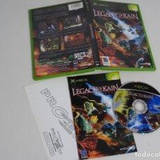 Videojuegos y Consolas: MICROSOFT XBOX - LEGACY OF KAIN BLOOD OMEN 1 ED. ESPAÑOLA MUY BUEN ESTADO. Lote 210154598