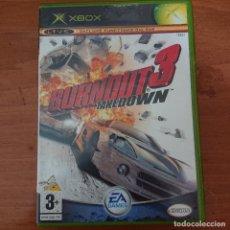 Videojuegos y Consolas: BURNOUT 3 TAKEDOWN XBOXCOMPLETO ESPAÑOL.. Lote 211434820