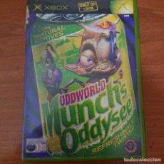 Videojuegos y Consolas: ODDWORLD MUNCH'S ODDYSEE XBOX INGLÉS COMPLETO. Lote 211435107