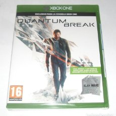 Videojuegos y Consolas: QUANTUM BREAK VIDEO-JUEGO EXCLUSIVO XBOX ONE SELLADO + ALAN WAKE. Lote 211577032