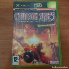 Videojuegos y Consolas: CRIMSON SKIES HIGH ROAD TO REVENGE XBOX. Lote 211642251