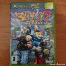 Videojuegos y Consolas: BLINX 2 MASTERS OF TIME & SPACE XBOX ESPAÑOL COMPLETO+. Lote 211666773