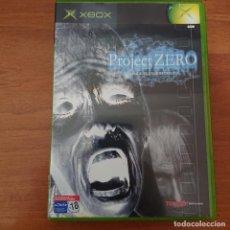 Videojuegos y Consolas: PROJECT ZERO XBOX ESPAÑOL COMPLETO. Lote 211666909