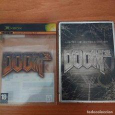 Videojuegos y Consolas: DOOM 3 LIMITED COLLECTOR'S EDITION XBOX COMPLETO ESPAÑOL.. Lote 211667108