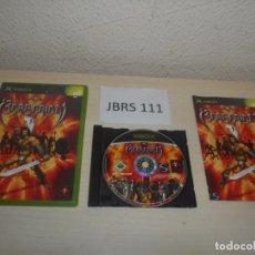 Videojuegos y Consolas: XBOX - BARBARIAN , PAL ESPAÑOL , COMPLETO. Lote 212402351