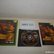 Videojuegos y Consolas: XBOX - DYNASTY WARRIORS 3 , PAL ESPAÑOL , COMPLETO. Lote 212403427