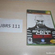 Videojuegos y Consolas: XBOX - SPLINTER CELL DOUBLE AGENT , PAL ESPAÑOL , PRECINTADO. Lote 212403567