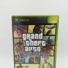 Videojuegos y Consolas: GRAND THEFT AUTO SAN ANDREAS XBOX. Lote 218500891