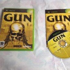 Videojuegos y Consolas: JUEGO GUN XBOX COMPLETO. Lote 218609430