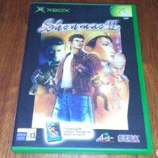 Videojuegos y Consolas: SHENMUE II PAL ESP COMPLETO XBOX. Lote 221760665