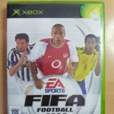 Videojuegos y Consolas: FIFA FOOTBALL 2004 XBOX PAL ESPAÑA EA SPORTS. Lote 222108041