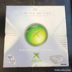 Videojuegos y Consolas: ULTRA RARE XBOX CRYSTAL PACK LIMITED EDITION PAL NEW. Lote 225763240