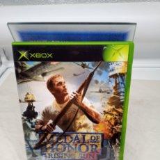 Videojuegos y Consolas: MEDAL OF HONOR RISING SUN XBOX CLÁSICA PAL/ESPAÑA. Lote 228218795
