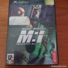 Videojuegos y Consolas: MISSION IMPOSSIBLE OPERATION SURMA ESPAÑOL SIN MANUAL. Lote 228787780