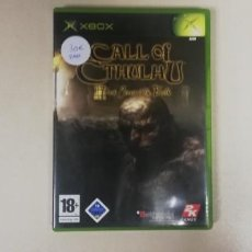 Videojuegos y Consolas: V- CALL OF CTHULHU BARK CORNERS OF THE EARTH - XBOX CON MANUAL RARE!!. Lote 229673595