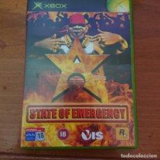 Videojuegos y Consolas: STATE OF EMERGENCY XBOX ESPAÑOL COMPLETO. Lote 230754460