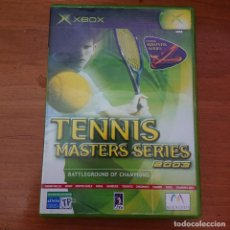 Videojuegos y Consolas: TENNIS MASTERS SERIES 2003 XBOX COMPLETO ESPAÑOL. Lote 230762990