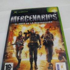 Videojuegos y Consolas: MERCENARIOS XBOX CLASICO. Lote 230882000