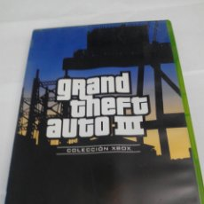Videojuegos y Consolas: GRAND THEFT AUTO 3 XBOX CLASICA. Lote 230882255