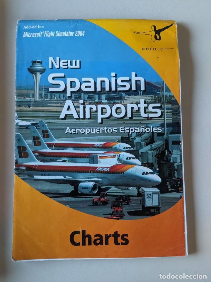 MICROSOFT FLIGTH SIMULATOR 2004 - NEW SPANISH AIRPORTS CHARTS - AEROSOFT (Juguetes - Videojuegos y Consolas - Microsoft - Xbox)