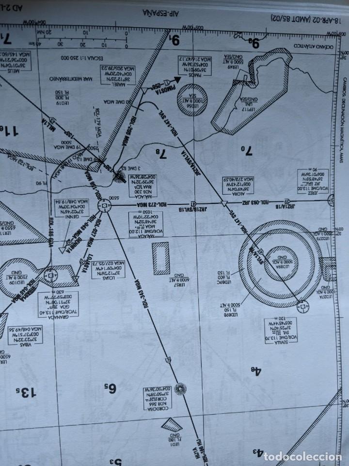 Videojuegos y Consolas: MICROSOFT FLIGTH SIMULATOR 2004 - NEW SPANISH AIRPORTS CHARTS - AEROSOFT - Foto 6 - 233223190