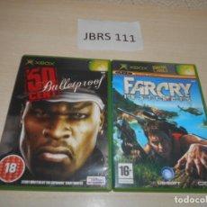 Videojuegos y Consolas: 50 CENT BULLETPROOF + FARCRY INSTINCS. Lote 234575275