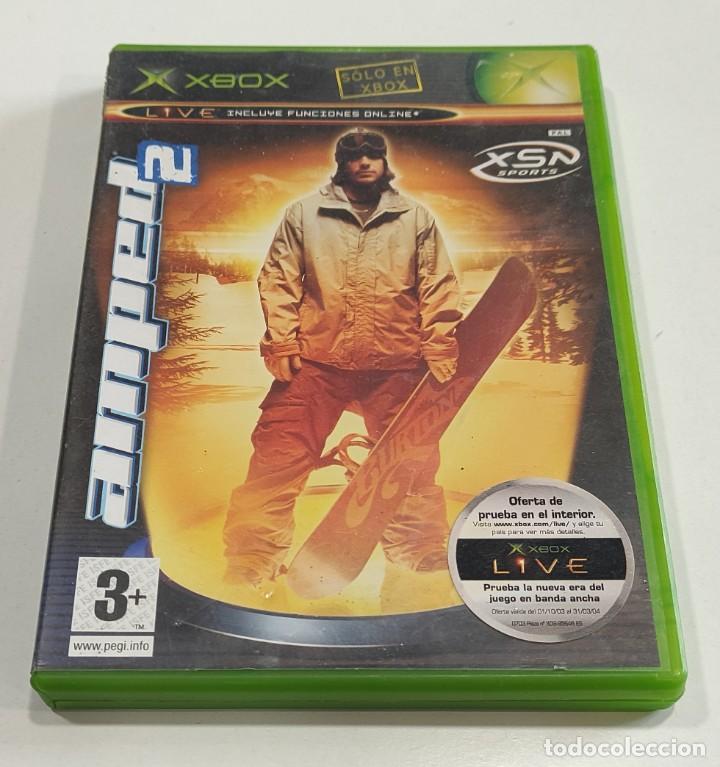 JUEGO CONSOLA MICROSOFT XBOX ORIGINAL CLASICA PRIMERA GENERACION AMPED 2 , DISCO ROTO (Juguetes - Videojuegos y Consolas - Microsoft - Xbox)